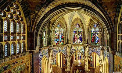 Photograph - Gaudi Chapel by Weston Westmoreland