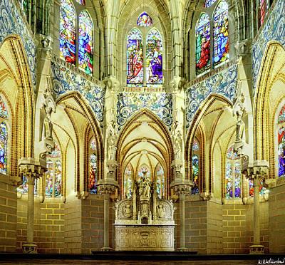 Photograph - Gaudi - Episcopal Palace Chapel by Weston Westmoreland