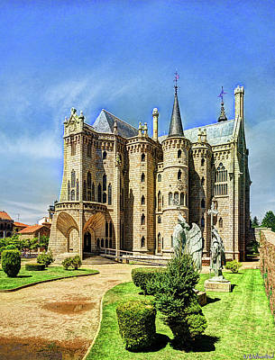 Photograph - Gaudi - Episcopal Palace Of Astorga - Vintage by Weston Westmoreland