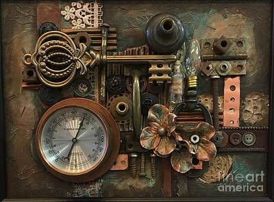 Mixed Media - Gauge This by Marcia Hero