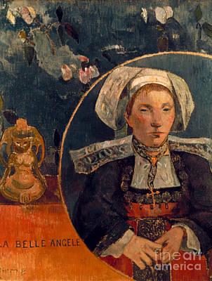 Photograph - Gaugin: Belle Angele, 1889 by Granger