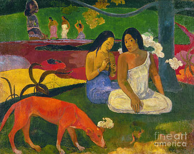 Photograph - Gauguin: Arearea, 1892 by Granger