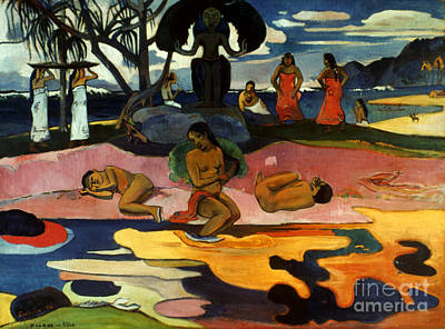 Photograph - Gauguin: Day Of God, 1894 by Granger