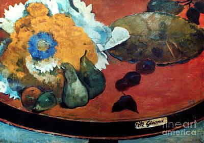 Photograph - Gauguin: Fete Gloanec, 1888 by Granger
