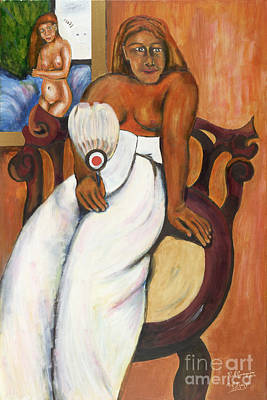 Gauguin Foregrounded Art Print by Neil Trapp