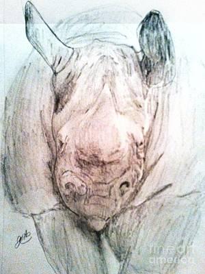Jenna Thomas Wall Art - Drawing - Gaurdian Plains by Jenna Thomas