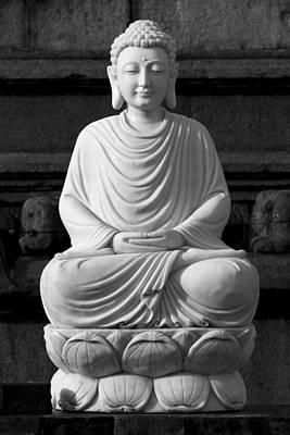 Photograph - Gautam Buddha by Hitendra SINKAR