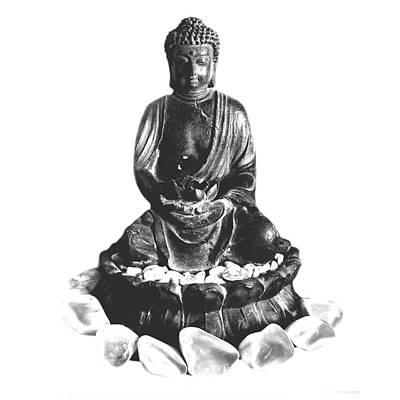 Mixed Media - Gautama Buddha by Gina Dsgn