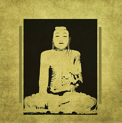 Budda Mixed Media - Gautama Buddha by Kandy Hurley