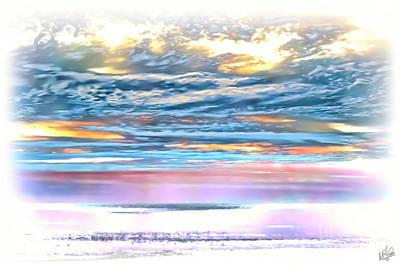 Photograph - Gauzy Sunset by Walt Foegelle