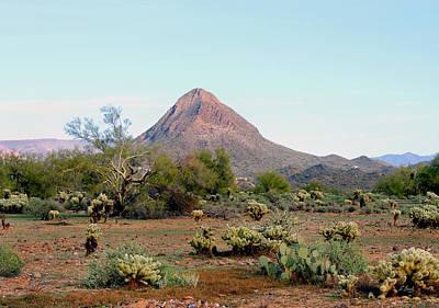 Apache Creek Photograph - Gavilan Peak, Arizona by Gordon Beck
