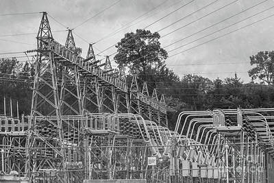 Photograph - Gavin's Point Dam Power by Pamela Williams