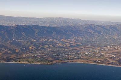 Gaviota Photograph - Gaviota Coast And The Santa Ynez by Rich Reid