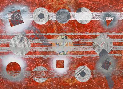 Abstraction Painting - Gavlax by Sumit Mehndiratta