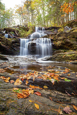 Photograph - Gawin Falls In Fall by Brian Hale