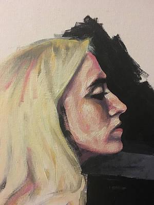 Painting - Gawking Blonde by Seamas Culligan