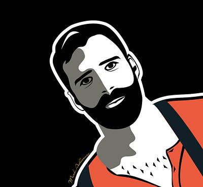 Gay Bear 2 Art Print by Mark Ashkenazi