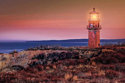 Gay Head Light At Sunrise Art Print