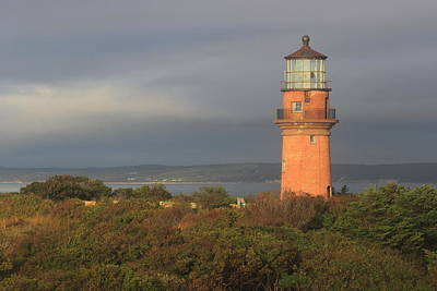 Photograph - Gay Head Lighthouse Marthas Vineyard After 2015 Relocation by John Burk
