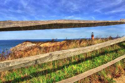 Photograph - Gay Head Lighthouse - Martha's Vineyard by Joann Vitali