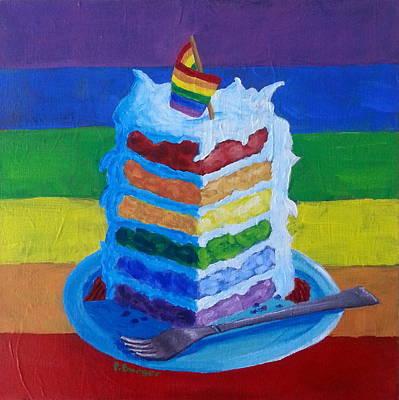 Gay Pride Cake Original