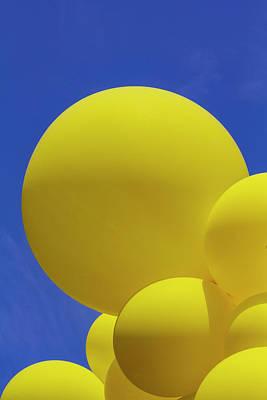 Photograph - Gay Pride Parade Nyc 6_24_2018 Balloons by Robert Ullmann