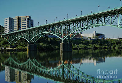 Photograph - Gay Street Bridge by Douglas Stucky