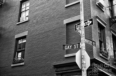 Photograph - Gay Street by John Rizzuto