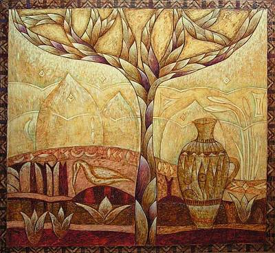 Painting - Gaya by Kasia Blekiewicz