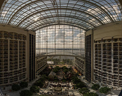 Photograph - Gaylord National Resort And Convention Center by Chris Bordeleau