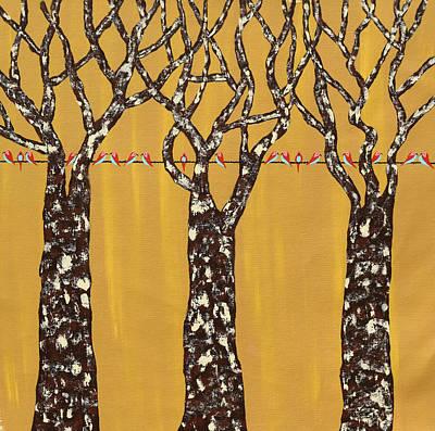 Painting - Gazaf Vriksh by Sumit Mehndiratta