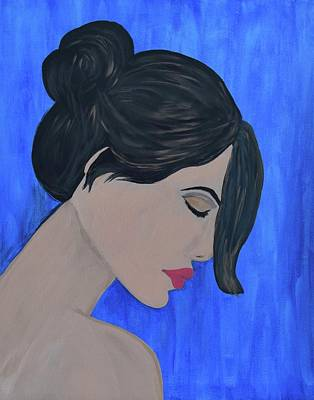 Painting - Gaze by Surbhi Grover