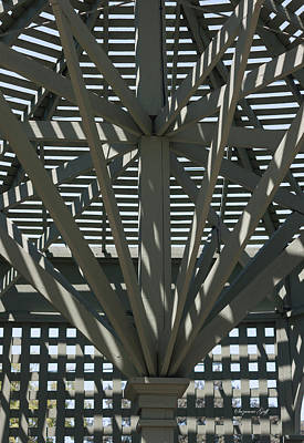 Photograph - Gazebo Abstract by Suzanne Gaff