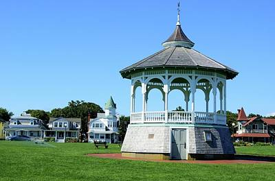 Photograph - Gazebo At Ocean Park, Martha's Vineyard by David Birchall