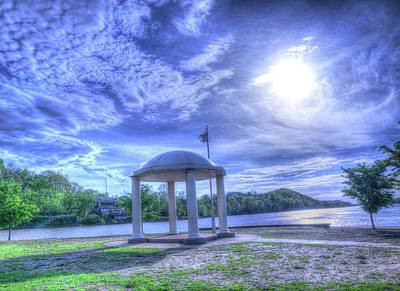 Parkersburg Wv Photograph - Gazebo At Point Park by Deborah Lorentz