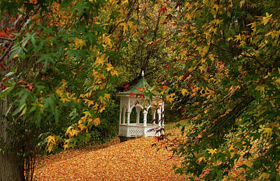 Photograph - Gazebo At Washington Crossing by Elsa Marie Santoro
