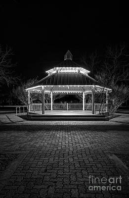 Photograph - Gazebo In Bw by Imagery by Charly