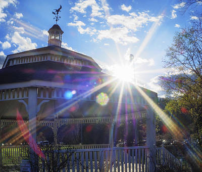 Photograph - Gazebo In Sunlight by Marianne Campolongo