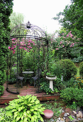 Photograph - Gazebo In The Summer by Trina Ansel