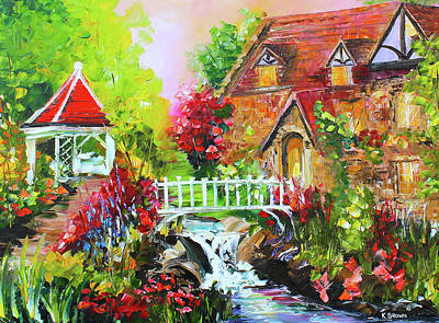 Painting - Gazebo by Kevin Brown