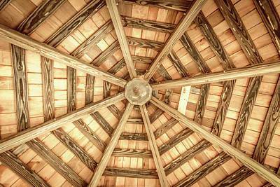 Photograph - Gazebo Roof by Wade Brooks