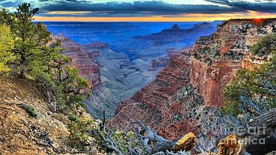 Photograph - Gazing Into The Canyon by Adam Jewell