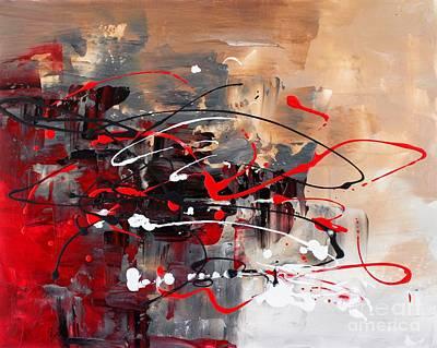 Painting - Gazing by Preethi Mathialagan