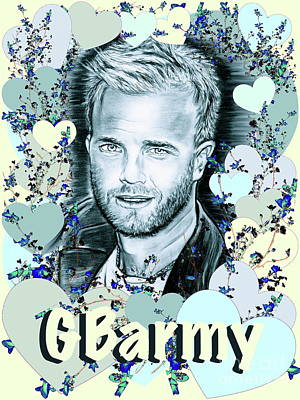 Gbarmy Love  Art Print by Gitta Glaeser