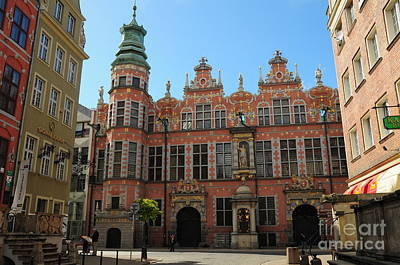 Photograph - Gdansk Poland History by Adrian Lewandowski