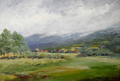 Painting - Ge, France by Robert Foster