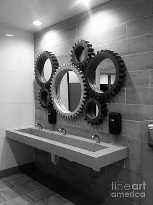 Photograph - Gear Mirror  by WaLdEmAr BoRrErO