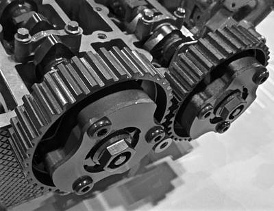 Photograph - Gears by Jeff Gater