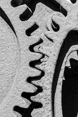 Photograph - Gear - Zoom, Close Up by Jacek Wojnarowski
