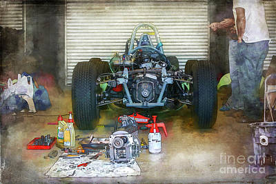 Photograph - Gearbox Repairs by Stuart Row